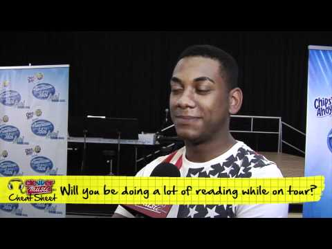 Music Cheat Sheet - Tour Cheat Sheet: Joshua Ledet 'American Idol' Interview