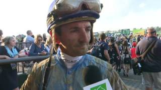 Post Race Comments from Belmont Stakes Jockeys