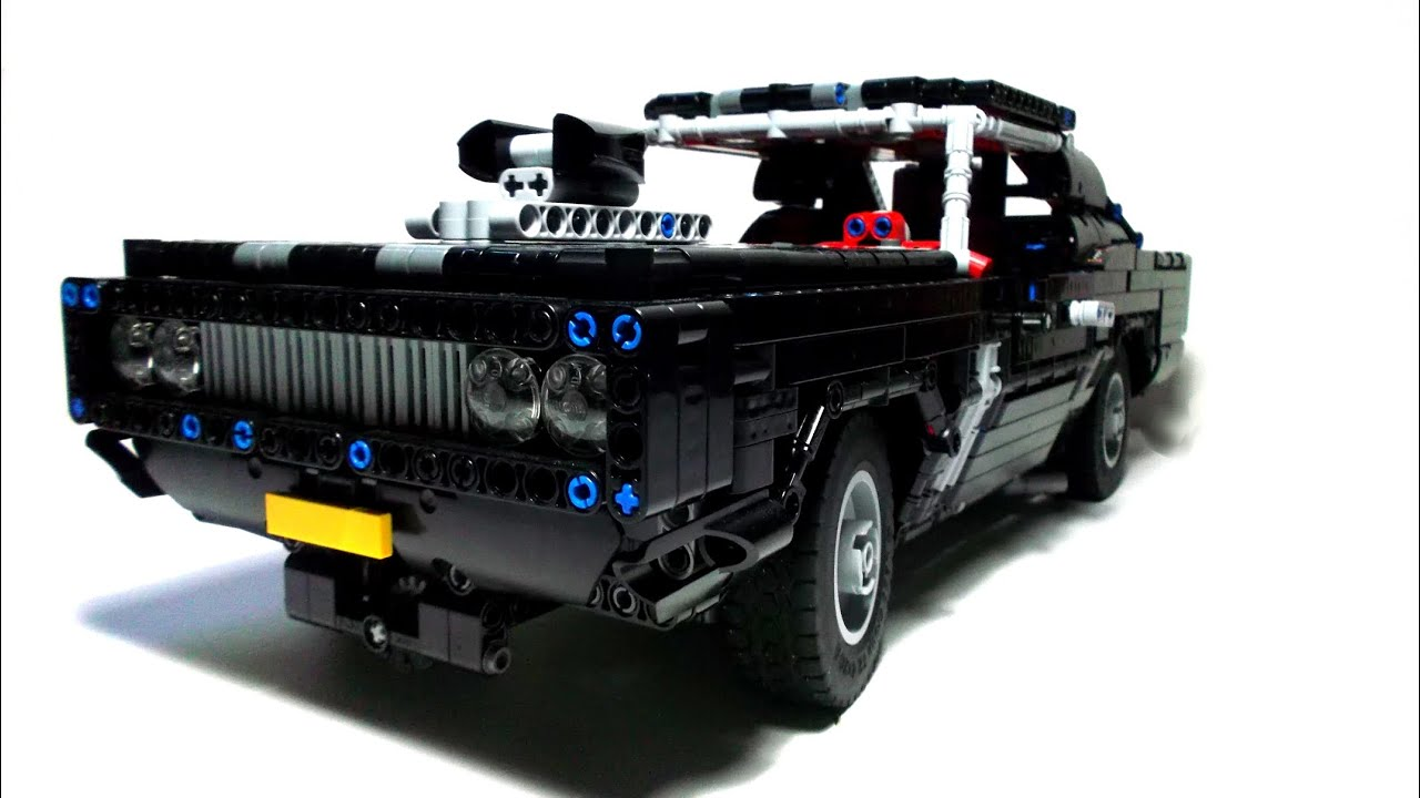 lego technic motorized muscle car youtube. Black Bedroom Furniture Sets. Home Design Ideas
