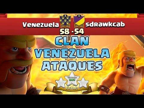 Venezuela Vs sdrawkcab   Ataques ★★★   Clash Of Clans