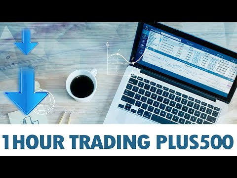 1 Hour Trading With Plus 500