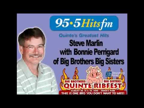 95.5 Hits FM - Steve Marlin talks with Bonnie Perrigard
