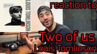 """Music Producer Reacts To: """"Two of Us"""" by Louis Tomlinson Video"""