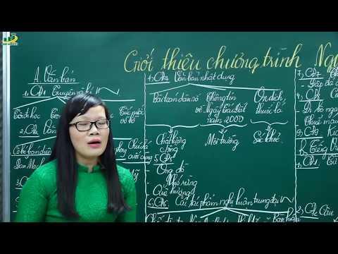 Ngữ Văn Lớp 8 – Bài Giảng Giới Thiệu, Phân Phối Chương Trình Ngữ Văn 8|Cô Lê Hạnh