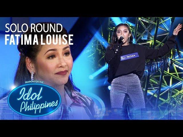 Fatima Louise - Feeling Good | Solo Round | Idol Philippines 2019