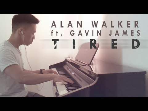 Alan Walker ft. Gavin James - Tired (piano cover by Ducci)