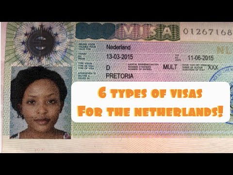 Visas for The Netherlands   6 types of Visas for The Netherlands   How to move to The Netherlands