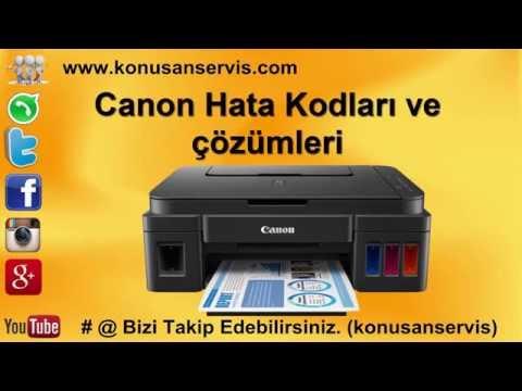 Canon 5011 Error Code