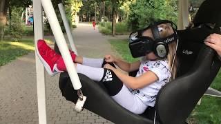 Алиса на аттракционе Виртуальные Приключения Для Детей