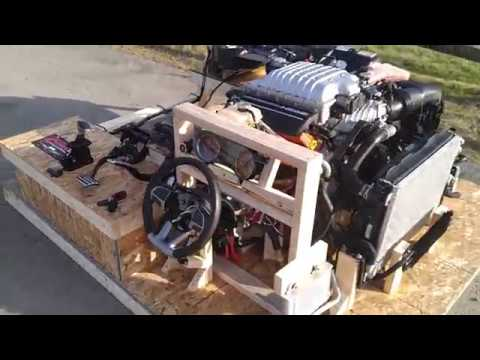 Dodge Charger Hellcat turnkey pallet