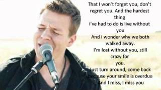 "Tyler Ward ""The Hardest Thing"" Lyrics"