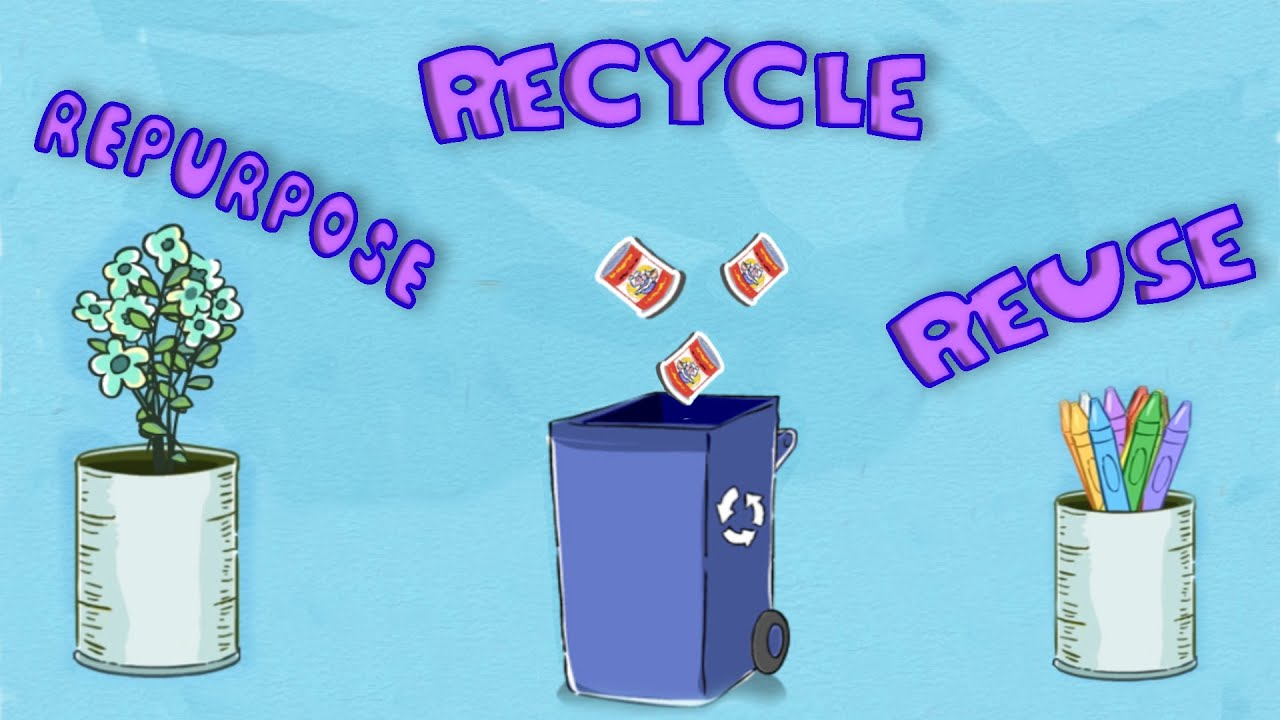 environment reuse repurpose recycle youtube - Reuse Repurpose