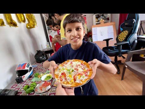 Piyush ne Pizza Banaya 😍