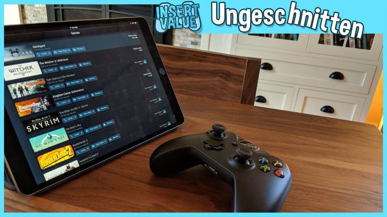 Steam Auf Tablet