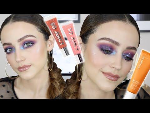 BLURPLE SMOKEY VIBES + New Makeup