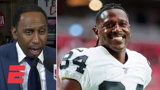 Antonio Brown's return to the Raiders has Stephen A., Mike Wilbon fired up | ESPN Voices