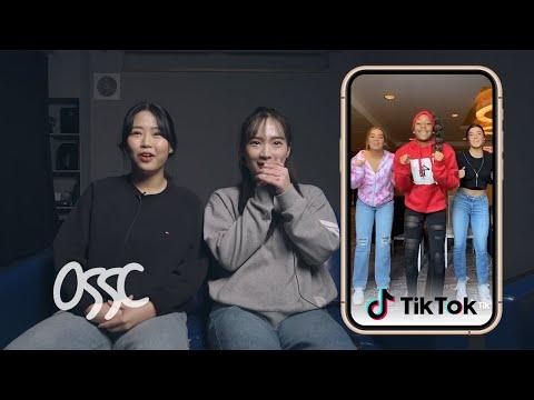 Korean Teen Dancers React To And Try TikTok Dance Challenge