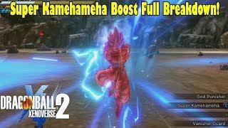 Xenoverse 2 SSGSS Gogeta Super Kamehameha Boost Is LIT! DLC 8 Super Kamehameha Breakdown & Gameplay