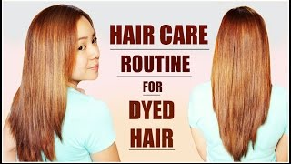 Updated Practical Hair Care Routine After Dying Your Hair -Treating Damaged & Dry Hair-Beautyklove