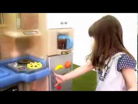 Little Tikes Keuken : Little tikes cook & grill keuken youtube