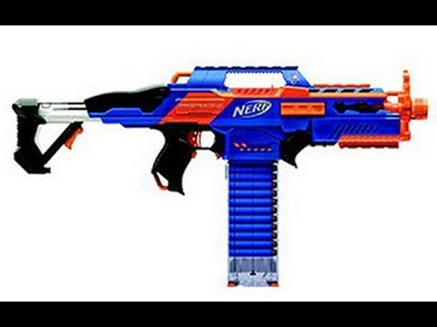 NERF Rapid Strike CS-18 Unboxing and Review