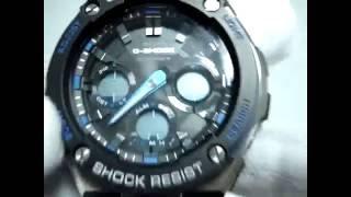 G-Shock GST-W100D-1A Налаштування годинника