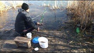 Моя рыбалка в марте