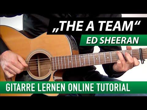 ★ Ed Sheeran ► The A Team ► Gitarre Lernen Tutorial (leicht)