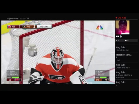 GAME 77 NEW JERSEY DEVILS AT PHILADELPHIA FLYERS NHL SEASON ONE 2017