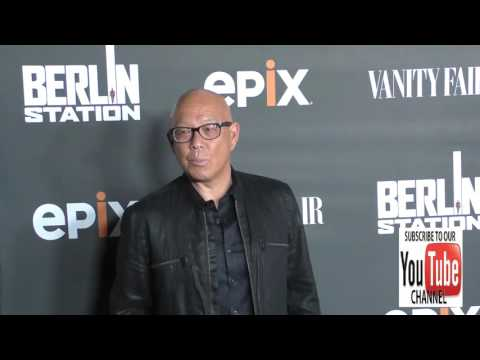 Michael Paul Chan at the Premiere Of EPIX's Berlin Station at Milk Studios in Hollywood