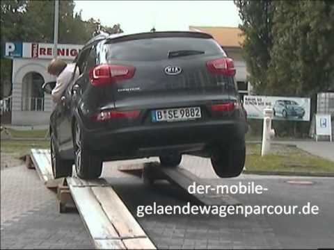 Kia Sportage Berlin, Onlinemotor, Gel ndewagenparcour