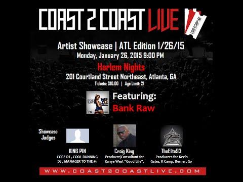 "Bank Raw (Famous & B Milli) performing ""Nobody"" live in Atlanta, Ga @ Coast 2 Coast Live Event"