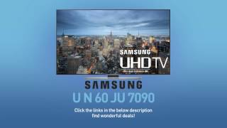 SAMSUNG UN60JU7090 ( JU7090 ) 4K UHD Smart TV // Technical Specs Review