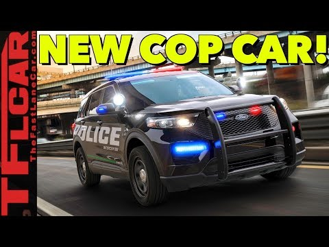 BREAKING NEWS: 2020 Ford Police Interceptor Utility Revealed!