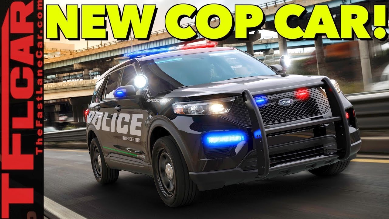 Breaking News 2020 Ford Police Interceptor Utility Revealed Youtube