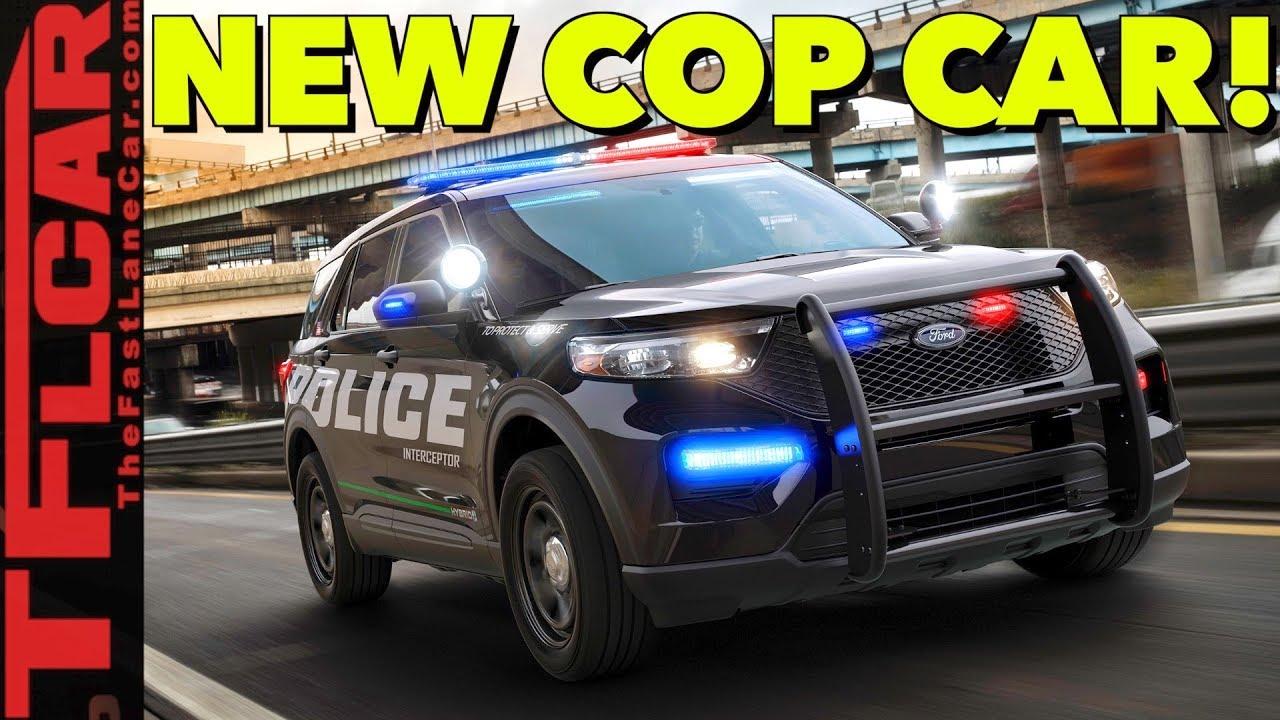 Breaking News 2020 Ford Police Interceptor Utility Revealed