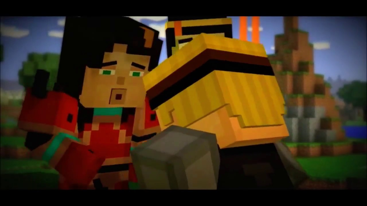 Lukas X Jesse May I Minecraft Story Mode Youtube