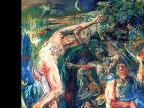 Oskar Kokoschka- Mahler sinfonía Nº7