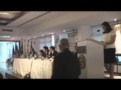 Palestra de Cinthia Corrêa da Costa Machado sobre o IPVCC