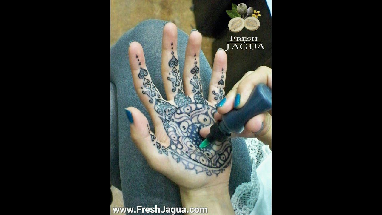 Jagua Tattoo: How To Apply Jagua Tattoo