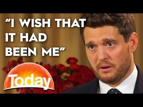 Michael Buble Opens Up About Son's Cancer Battle | TODAY Show Australia