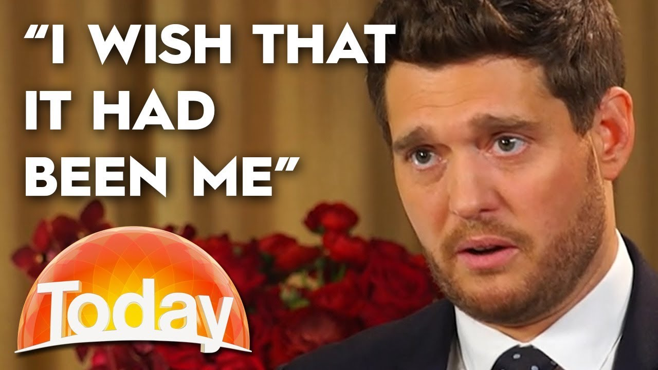 Michael Buble opens up about his son's cancer battle | TODAY Show Australia