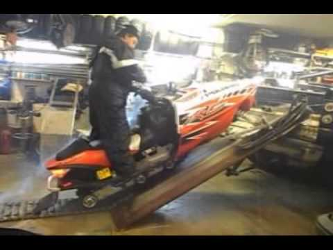 Tilt Load Snowmobile Ramp Lift Doovi