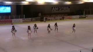 Pom Pom Girls au Haras ( match Brest/Angers )