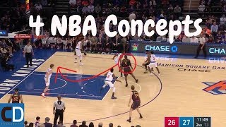 NBA Concepts That Should Be Used More In 2017-2018