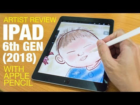 Artist Review: iPad 6 Gen (2018) with Apple Pencil