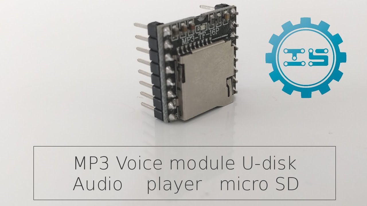 Unboxing the MP3 Voice Module U Disk Audio Player Micro SD from ICStation  com