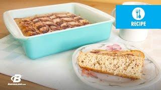 Healthy Recipes: Cinnamon Swirl Protein Bread