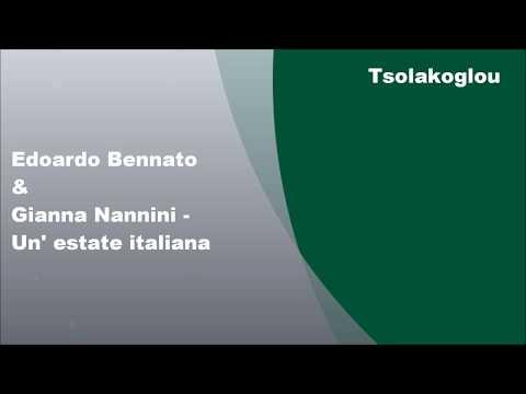 Gianna Nannini & Edoardo Bennato - Un' estate italiana, Lyrics