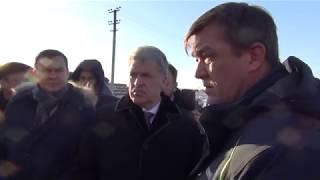 В Башкирии Грудинину показали «лимузины»
